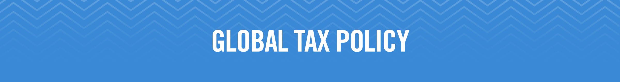 McCormick & Company Global Tax Policy