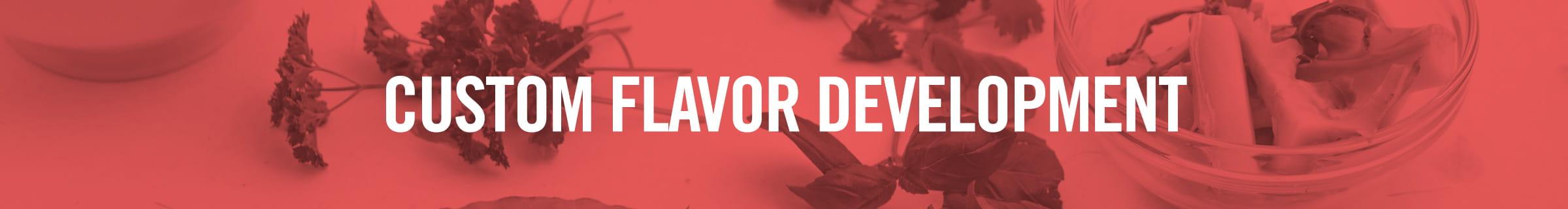 Parsley- Custom flavor development