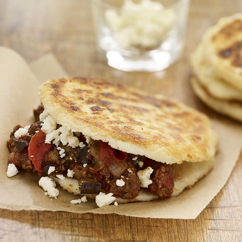 south_american_arepas_with_easy_greek_moussaka_800