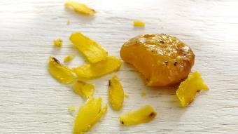 Pikantne peklowane żółtka jajek