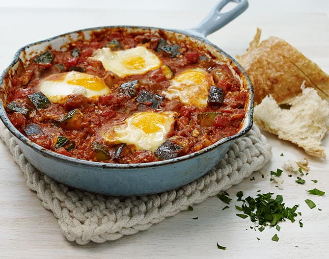 Mediterranean-Vegetable-Shakshuka