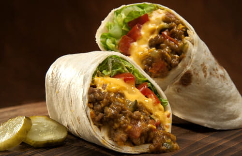 cheeseburger-burritos