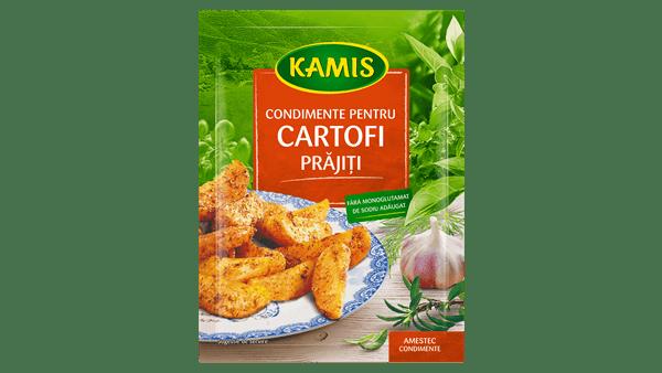 Condimente pentru cartofi prăjiți
