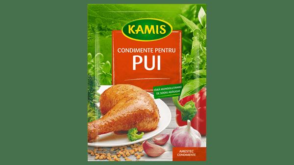 Condimente pentru pui