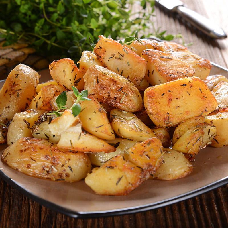 Cartofi cu ierburi în stil italian