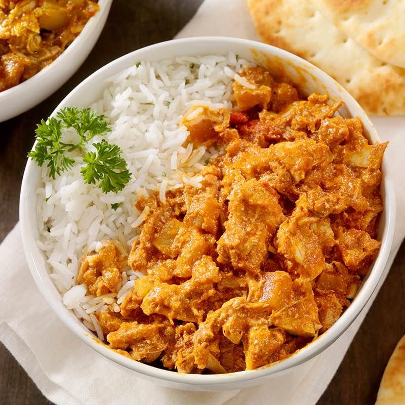Curry cu pui ușor picant