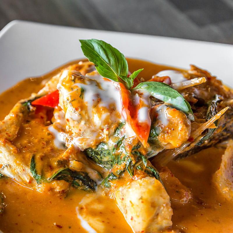 Curry cu pește