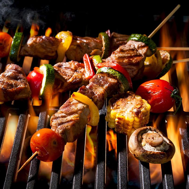 Kebab la grătar