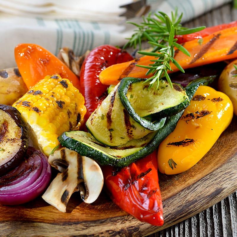 Mixed grill de legume