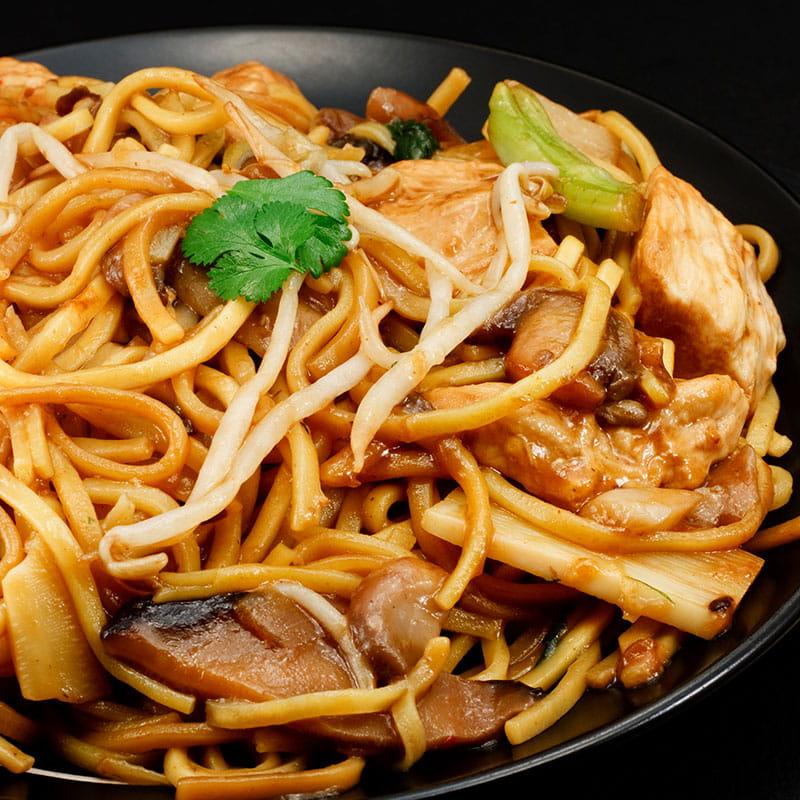 Noodles cu legume