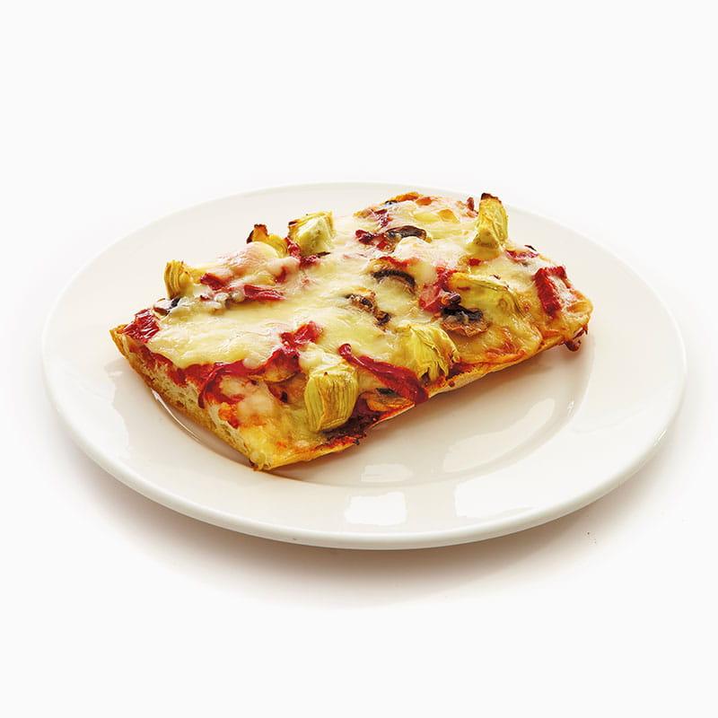 Pizza cu pâine italiană