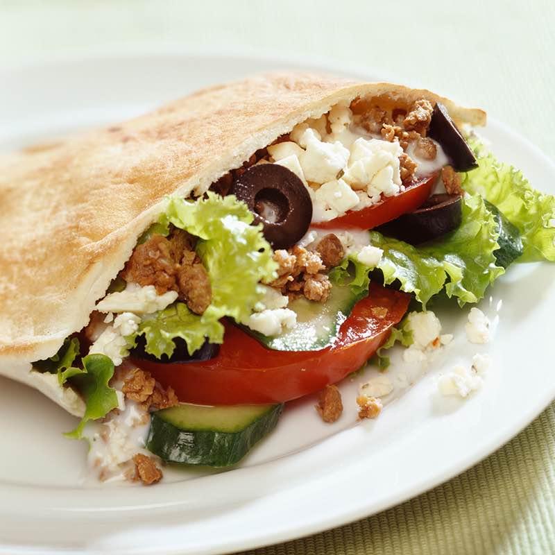Sandviș cu ton în stil grecesc