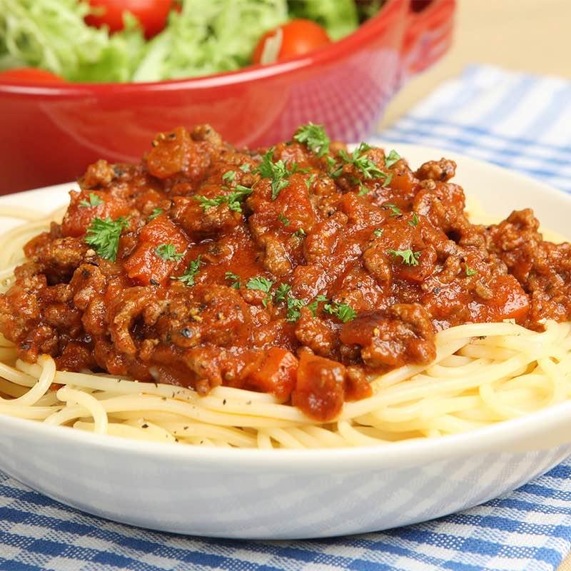 Spaghette Bolognese