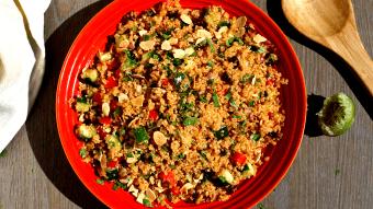 Południowa sałatka z quinoa