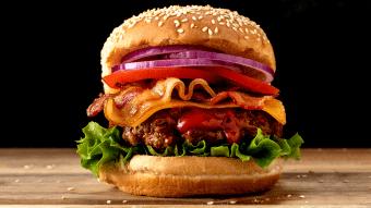 Pikantny teksański burger