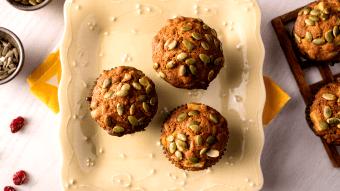 Ostre muffiny kukurydziane z boczkiem