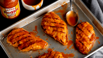 Grillowane piersi z kurczaka w stylu Buffalo