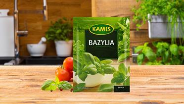 Bazylia Kamis w torebce