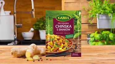 Przyprawa chińska 5 smaków Kamis w torebce