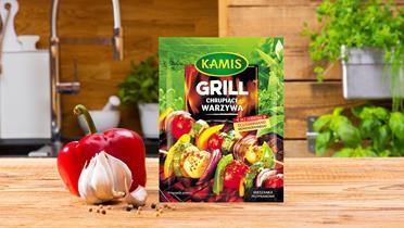 Przyprawa do chrupiących warzyw z grilla Kamis w torebce