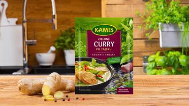 Zielone curry po tajsku Kamis w torebce