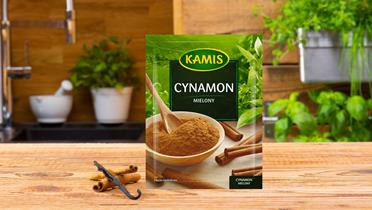 Cynamon mielony w torebce Kamis