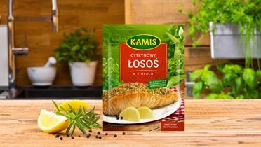 Cytrynowy łosoś w ziołach Kamis w torebce