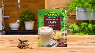 Przyprawa do Kawy Chai Latte Kamis w torebce