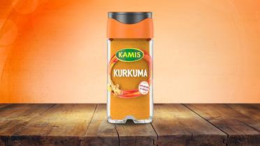 Kurkuma w słoiczku l Kamis.pl