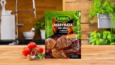 Marynata do mięs z grilla Kamis w torebce