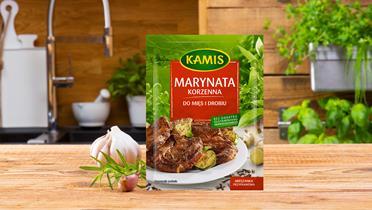 Marynata korzenna do mięs i drobiu Kamis w torebce
