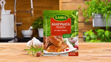 Marynata pikantna do mięs i drobiu Kamis w torebce