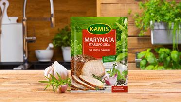 Marynata staropolska do mięs i drobiu Kamis w torebce