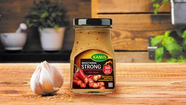 Musztarda Kamis Strong z ciętym chili