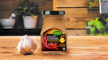 Musztarda Kamis Strong z pieprzem cayenne