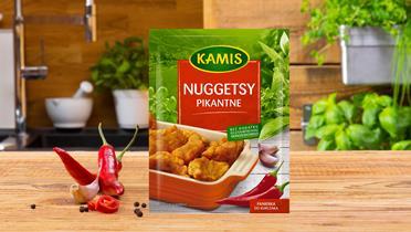 Nuggetsy pikantne Kamis w torebce