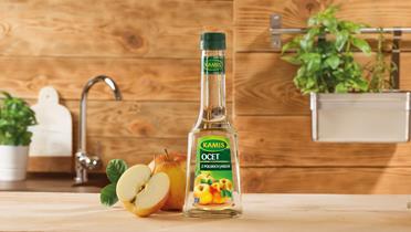 Ocet z polskich jabłek Kamis
