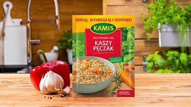 Przyprawa do kaszy pęczak l Kamis.pl