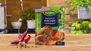 Przyprawa do kurczaka farmerskiego Kamis w torebce