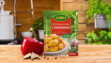 Przyprawa do dań z ziemniaków Kamis w torebce