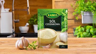 Sól czosnkowa Kamis w torebce
