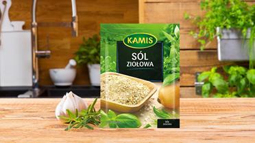 Sól ziołowa Kamis w torebce