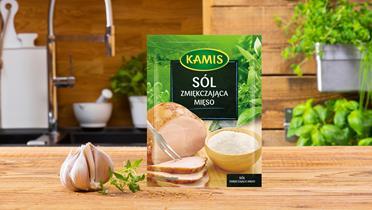 Sól zmiękczająca mięso Kamis w torebce