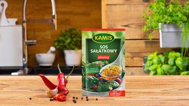 Sos sałatkowy pikantny Kamis