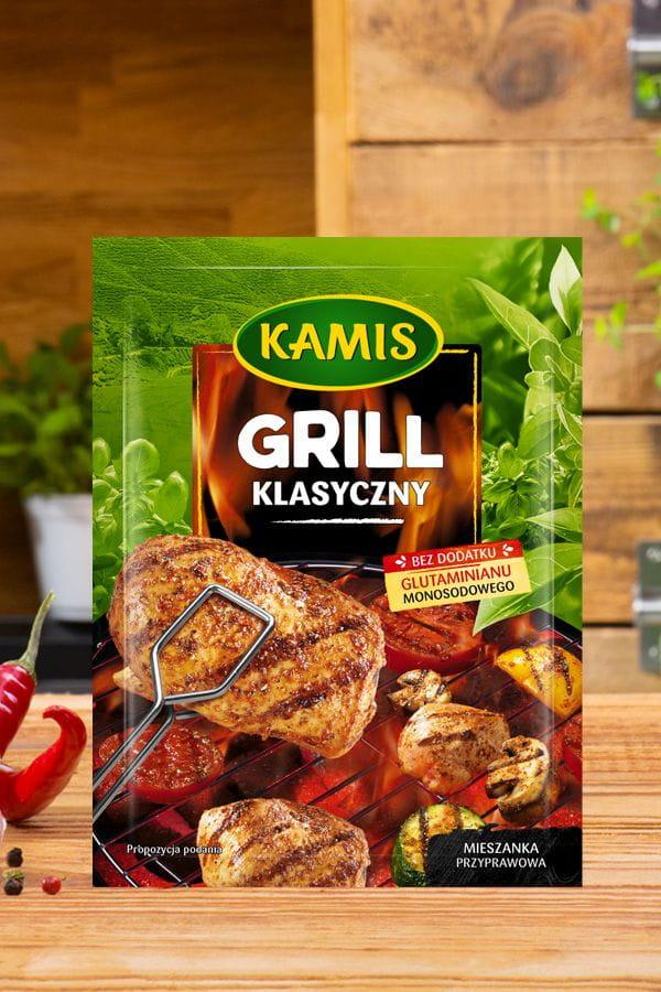Przyprawa Grill klasyczny Kamis