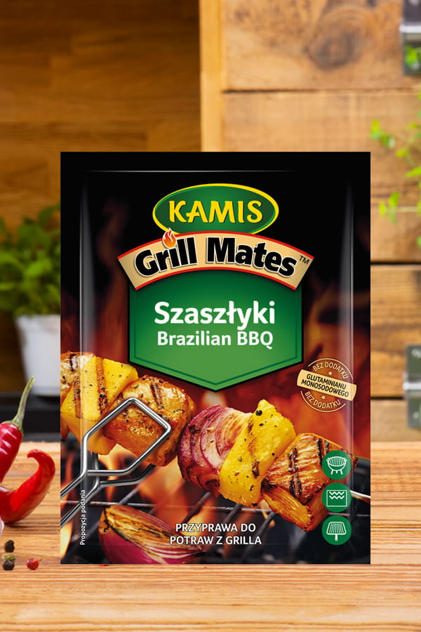 Szaszłyki Brazilian BBQ Grill Mates