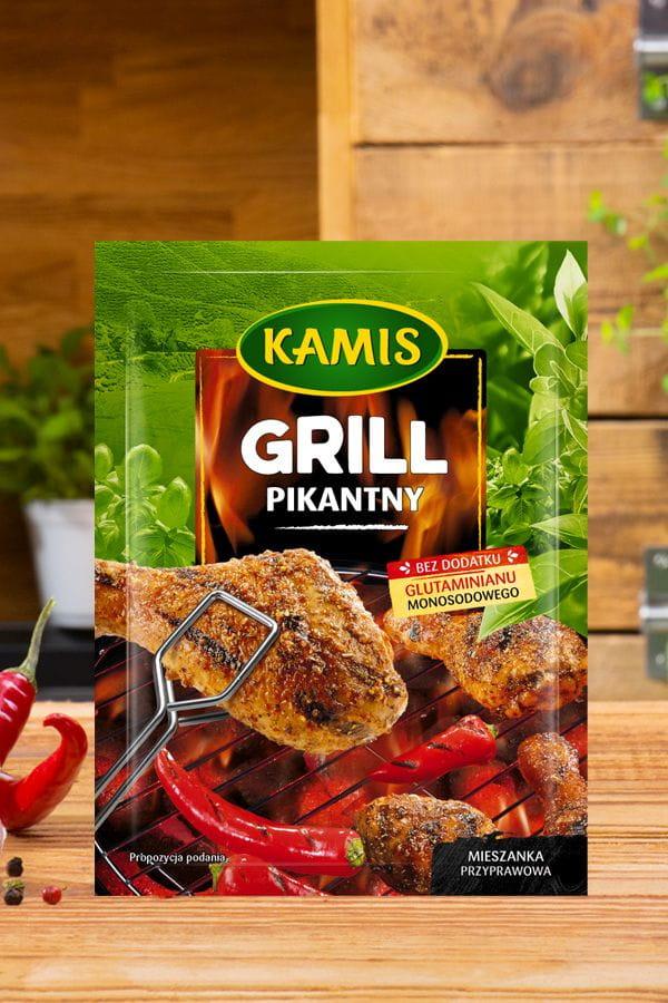 Przyprawa Grill pikantny Kamis