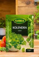 Kolendra liście Kamis w torebce