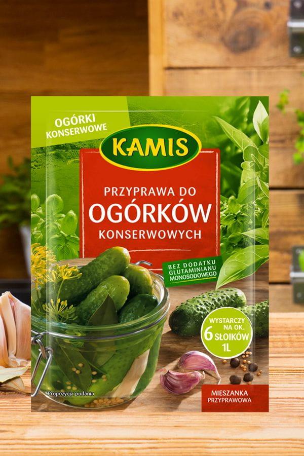 Przyprawa do ogórków konserwowych Kamis