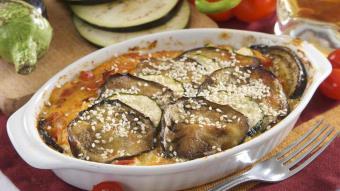 Bakłażany zapiekane z mozzarellą